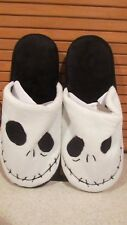 DISNEY NIGHTMARE BEFORE CHRISTMAS JACK plush SLIPPERS SIZE SIZE M 7/8  BNWT