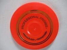 Vintage 1965 WHAM O FRISBEE Professional Frisbee Model Mold 15 Orange