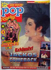 POP Rocky Magazin 1995 Michael Jackson Wetten Dass Earth Song Germany HIStory