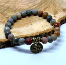 Chakra Healing Yoga Reiki Energy Power Bead Natural Stone Crystal Bracelet UK