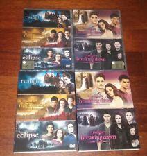 5 DVD TWILIGHT SAGA SERIE COMPLETA SIGILLATI CON SLIP CASE