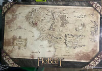 LORD OF THE RINGS THE HOBBIT MIDDLE EARTH MAP POSTER PRINT NEW 22x34
