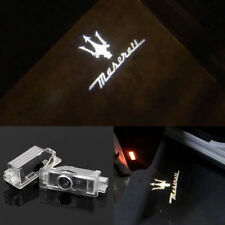 LED Luz de puerta de coche para Maserati Proyector Lámpara Charco Cortesía láser logotipo de sombra