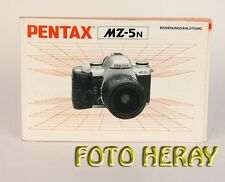Pentax MZ-5N originale Bed-Anleitung deutsche Ausgabe 03267