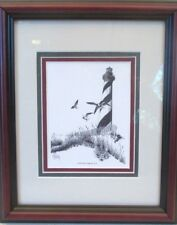 "John Stoeckley ""Cape Hatteras Lighthouse"" Framed Picture"