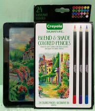 Crayola Signature Blend & Shade 24 Colored Pencils 68-2015