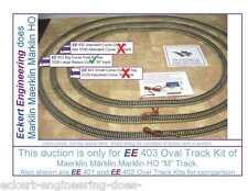 "EE 403 EXC Maerklin Märklin Marklin HO 5200 Big Radius Curve ""M"" Track Oval Kit"
