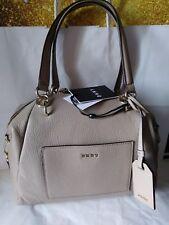 Dkny key item Chelsea pebbled buff combo color satchel handbag shoulder bag $248