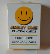 Carta Mundi Smiley Face Playing Cards Poker Size Standard Face New