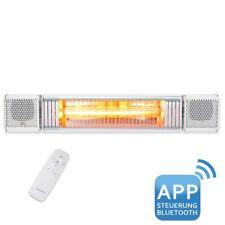 VASNER Appino BEATZZ Weiss Infrarotstrahler Bluetooth, LED Backlight Licht Musik