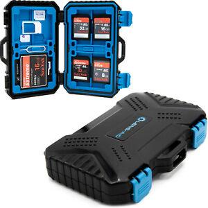 Lens-Aid Box zur Aufbewahrung von Speicherkarten, SD, CF; MicroSD, SIM Karten