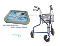 Deltatablett Antirutschmatte Dreirad Rollator Rutschsicher Deltarollator Tablett