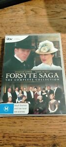 THE FORSYTE SAGA - COMPLETE COLLECTION..4 X DISCS..REG 4..NEW & SEALED