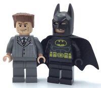 LEGO LOT OF 2 BATMAN MINIFIGURES SUPER HEROES AUTHENTIC FIGS