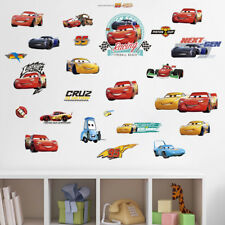 New Disney Cars Wall Deco Sticker Decal Decor Removable bedroom Art Mural 2018