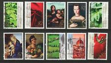 JAPAN 2016 150 YEARS DIPLOMATIC RELATIONS WITH ITALY COMP. SET OF 10 STAMPS USED