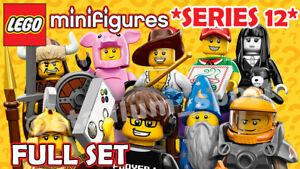 LEGO Minifigures: Series 12 [71007] *2014-RETIRED* COMPLETE FULL SET