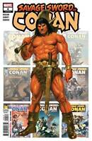 Savage Sword of Conan #4 Marvel Comic 1st Print 2019 unread NM Alex Ross