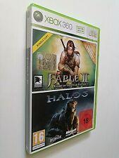 FABLE II + HALO 3 Xbox 360 - Versione Bundle dischi come nuovi