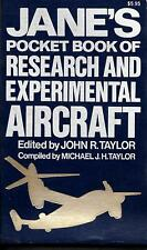 Jane's Pocket Book of Research & Experimental Aircraft, (paperback 1977)