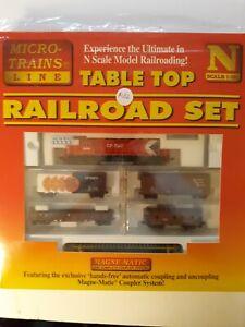 MICRO TRAINS MTL NScale,Tabletop railroad set, KATO, 1998, new in box