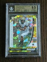 2020 Prizm Draft Picks Jared Pinkney Gold Ice Prizm RC # /7 - BGS 9.5 Gem Mint