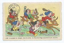 CPA - Carte Postale - WALT DISNEY - Edition Superluxe  Blanche Neige  N°24