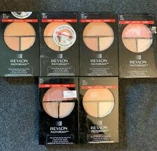 6 Revlon PhotoReady Sculpting Blush Palettes - Berry - Peach - Pink - Neutral