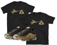 "Nike Air Max 97 95 Metallic Gold Bullet ""Love of Money"" SHIRTS"