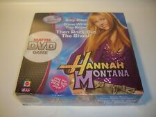 """Hannah Montana Disney/Mattel DVD Game """"Then Rock Out The Show"""" New! Sealed 2007!"""