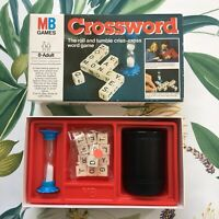 1978 Crossword Board Game By MB Games Spelling Educational 100% Complete