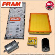 SERVICE KIT AUDI A4 (B5) 1.8 20V FRAM OIL AIR FUEL CABIN FILTER PLUG (1995-2001)