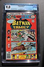 BATMAN FAMILY #6 1st Duela Dent JOKER'S DAUGHTER Harlequin 1976 CGC VF/NM 9.0 W