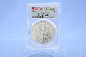USA 1 Dollar 2006 American Eagle First Strike  PCGS  MS 70
