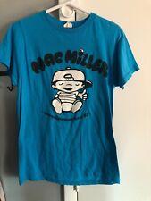 Mac Miller most dope cartoon size medium shirt 2 thumbs up Concert Authentic