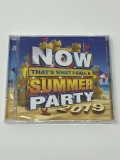 NOW THAT'S WHAT I CALL A SUMMER PARTY 2019 - CD - 2 X CD SET - NEW & SEALED