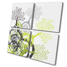 Illustration Abstract Tree MULTI DOEK WALL ART foto afdrukken