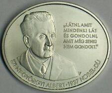 "Hungary 2012 Silver 3000 Forint ""Albert Szent-Györgyi"" Brilliant Uncirculated"