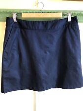 Adidas Skort Size 10 Navy Blue Tennis Golf Athleisure