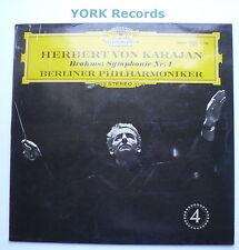 DG 138 927 - BRAHMS - Symphony No 4 KARAJAN Berlin PO - Excellent Con LP Record