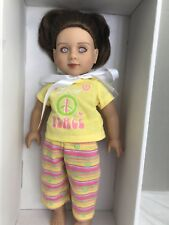 "My Twinn 18"" Doll 2013 with brown Hair Purple Eyes (AD#2)"