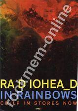 Radiohead In Rainbows LP Advert