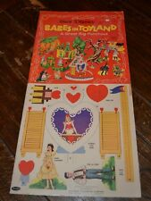1961 Walt Disney Babes in Toyland, A Great Big Punchout – Unpunched, Intact