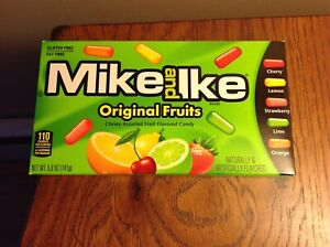 Mike and Ike Original Fruits Chewy Assorted Fruit Flavored Candy 5 OZ