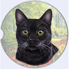 Black Cat Auto Coasters