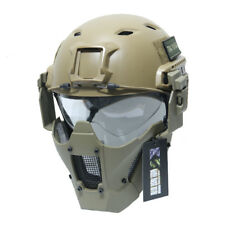 Airsoft JAY FAST Module PDW MESH Mask Tactical Half Face Mask Fit AF Helmet