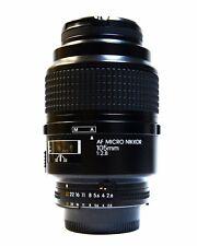 Nikon lens - MICRO Nikkor 105mm AF F/2.8 macro DX, FX Full Frame