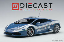 AUTOart 74609 Lamborghini Huracan LP610 Police Car 1:18TH Scale