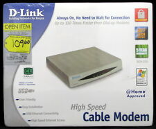 D-Link High Speed Cable Modem DCM-200 DLink D Link Ethernet and USB Connectivity