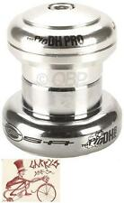 "FSA THE PIG DH PRO THREADLESS CUPPED SILVER 1-1/8"" BMX BICYCLE HEADSET"
